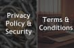 draft a legal Privacy POLICY or Terms and Conditions page