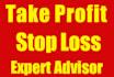 universal Take Profit , Stop Loss Expert Advisor