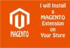 install any MAGENTO extension