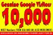 drive 10,000 genuine Google real traffic to website, blog