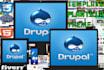 enviarte un template PREMIUM de Drupal