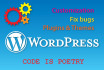 do anything related to WordPress