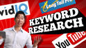 do in depth SEO keyword research and analysis
