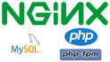 setup nginx with Mysql php or php fpm