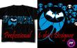 make STUNNING tshirt design
