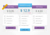 design a perfect pricing table for your website