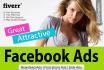design Awesome Facebook Ads or Cover within 24hrs