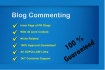 give 40 blog comment in inner page or pr