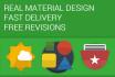 make a material design icon or logo