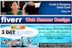 design a Creative Web Banner or Facebook Cover