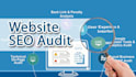 do SEO Website Audit and write an action plan to rank site