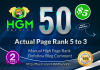 50 Manual DoFollow Blog Comment Actual Page Rank 3 Up To 5