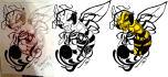 redesign your logo, illustration, sketch