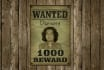 design you an awesome wild west wanted Poster in vintage style