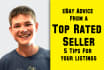 analyze Your eBay Listing and Give you 5 Detailed Tips