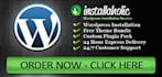 install Wordpress on New Site with all settings