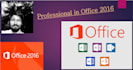 do data entry in Office Professional 2016