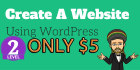 create responsive WordPress website for Only 5USD