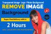 remove image Background photoshop edit Professionally