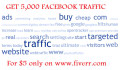 send 5000 Facebook referral traffic to your url