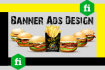 do cheerful Professional banner ads design