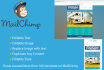 do responsive email templates also i can work in mail chimp