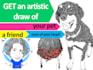draw you a fantastic portrait