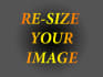 resize 10 images without losing quality in 24hrs