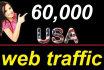 drive USA Website Traffic