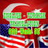 translate 600 words from English to Turkish