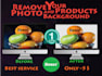 retouching or remove background Your photo Faster