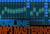 master one track or dj set