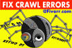 analyze and fix all Crawl Errors of your website