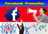 do Facebook Promotion share your Link with 2 million members