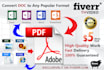 convert Any Document File to  PDF
