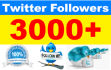 add 3000 high quality followers to your Twitter profile