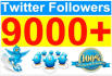 send 2000 High Quality Twitter Followers and Included Bonus