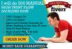 do 100 high trust flow Backlinks for faster Ranking