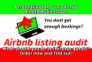 assist you to improve your Airbnb listing