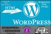 convert HTML,Joomla or any website to WordPress