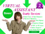 be Your Superb Virtual Assistant or Admin Support