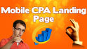 create Mobile CPA Landing Page