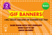 make amazing GIF banners