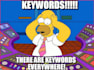 do KW Analysis for 5 Best Industry Keywords