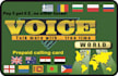 give you a international calling card