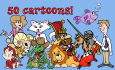 give you 50 great cartoon characters