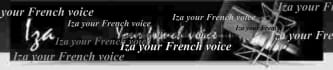 record your text in FRENCH female young voice
