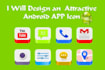 design an Attractive Android APP icon