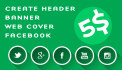 design creative ADS, Banners, Headers, Facebook covers, Google ads
