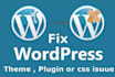 fix you wordpress releated Issues
